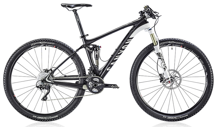 2014 Canyon Lux CF 8.9 Bike 2014 Canyon Lux CF 8.9 - carbon fiber black:white