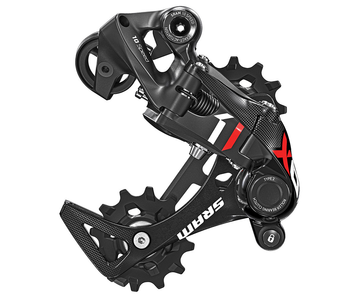 SRAM X01 DH X-Horizon Rear Derailleur SRAM X01 DH 10-Speed X-HORIZON™ Rear Derailleur