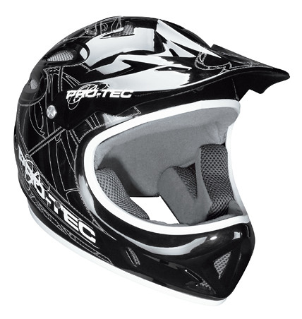 Pro-Tec Shovel Head 2 Full Face Helmet protec-shovel-black