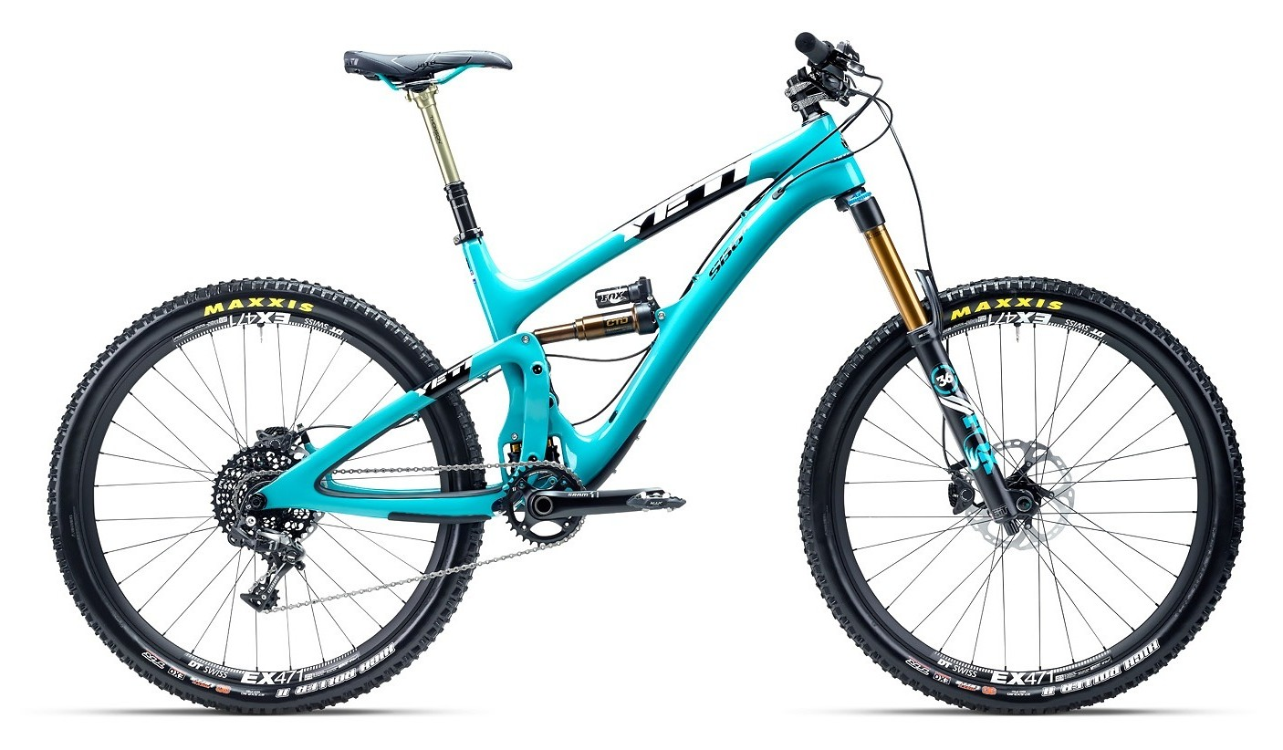 2015 Yeti SB6 Carbon with X01