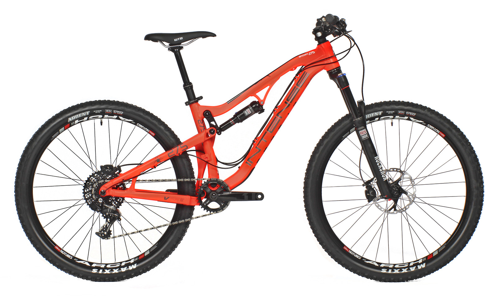 2015 Intense Spider 275 Pro  2015 Spider 275 Pro - Flo Red
