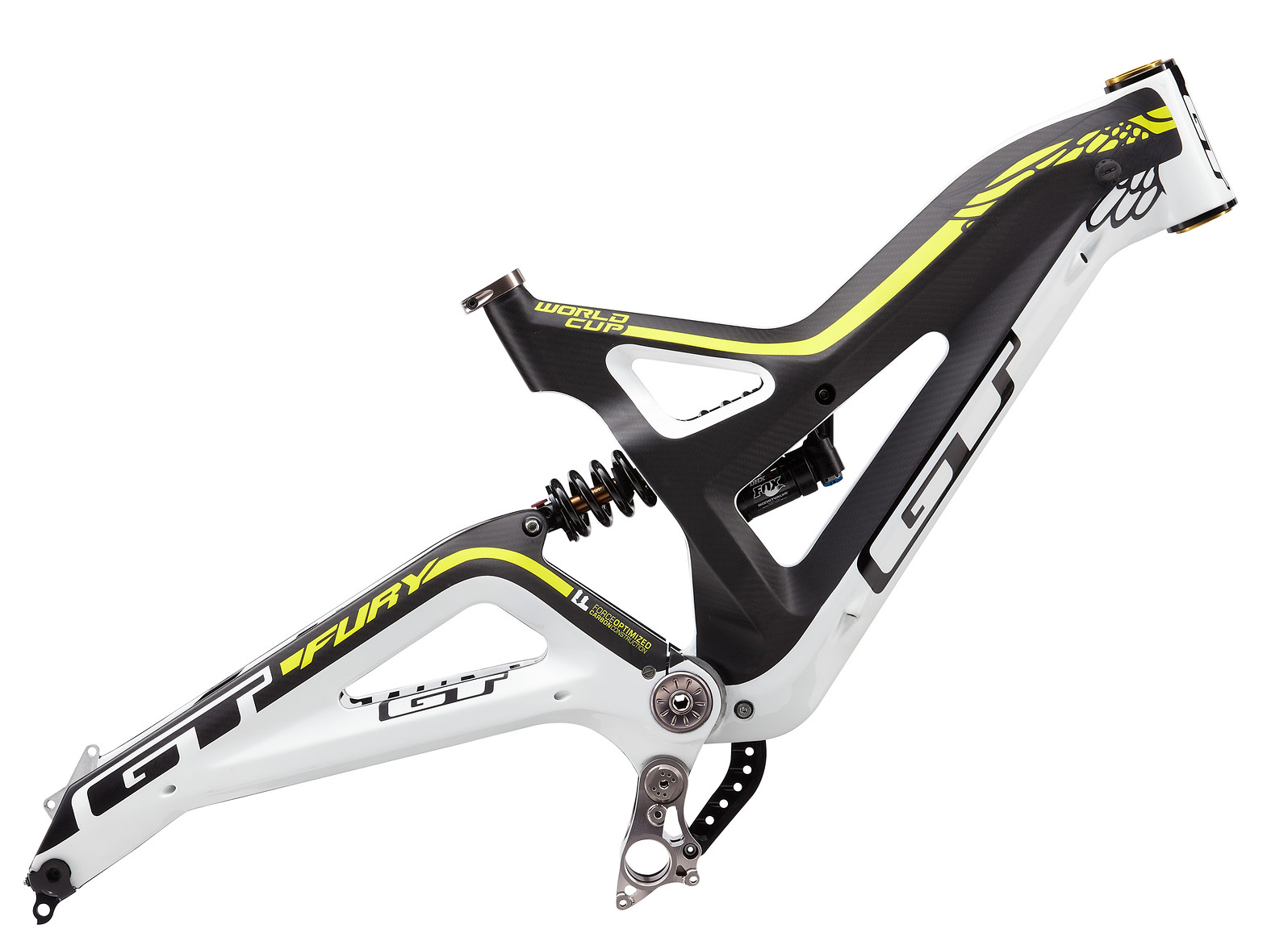 GT Fury Downhill Frame g13_FURCFRM _wht