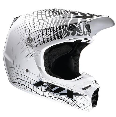 Fox Racing V3 Full Face Helmet 01125058L