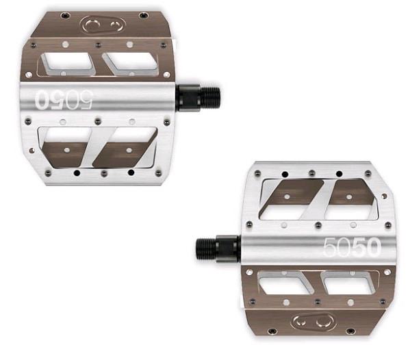 Crank Brothers 5050 X Flat Pedal k_pedal_crank_5050x_sil