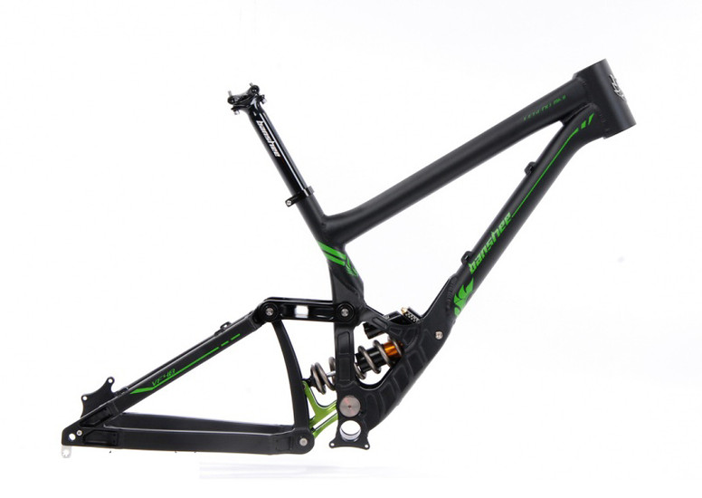 Banshee Bikes Legend MKII Frame Black/Green