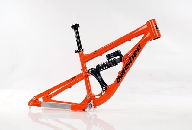 Banshee Scythe Frame Orange
