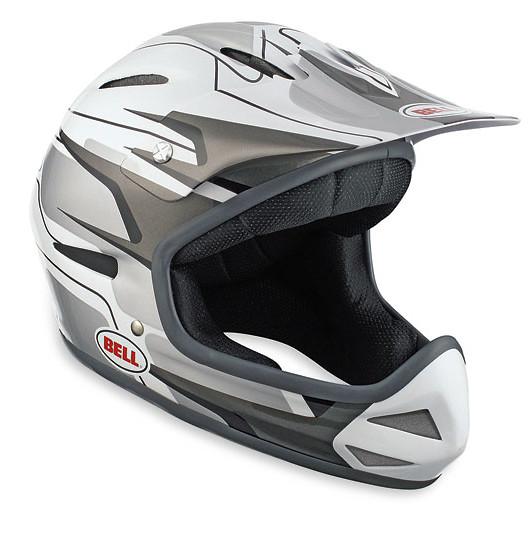 Bell Bellistic Full Face Helmet Bellistic White/Silver