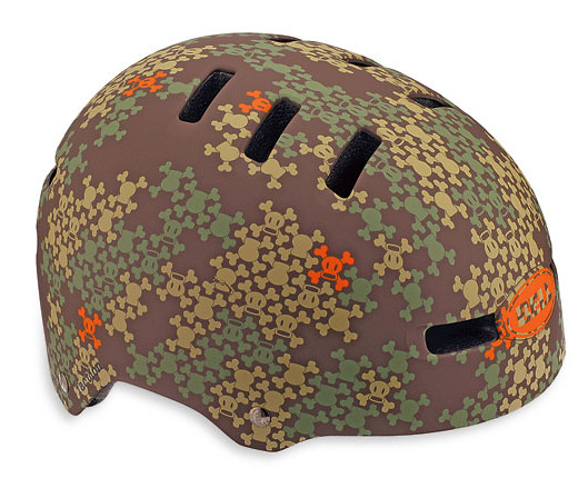 Bell Faction Open Face Helmet Faction Matte Brown Paul Frank Scurvy Camo