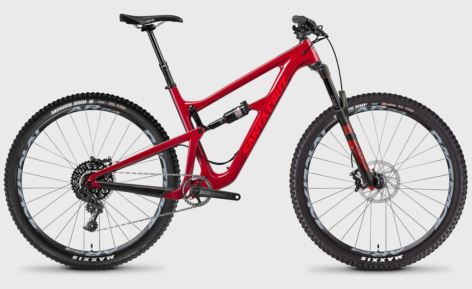 2017 Santa Cruz Hightower Carbon C S  2017 Santa Cruz Hightower C S Bike (Sriracha/Red)