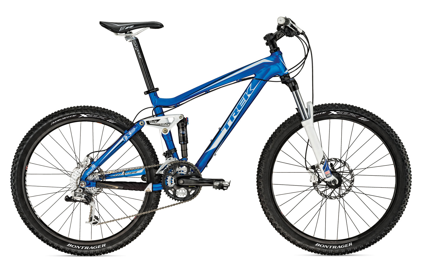 2010 Trek EX 5 Bike fuelex5_blue