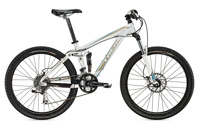 2010 Trek EX 5 WSD Bike fuelex5wsd_white