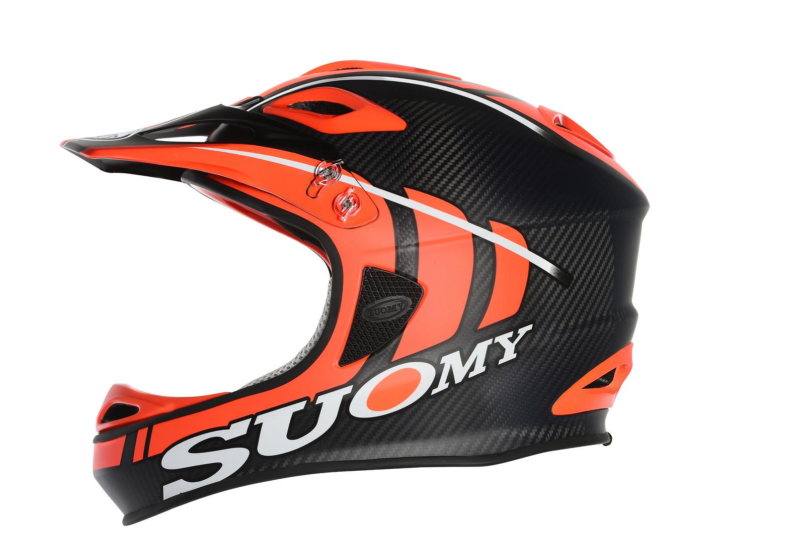 Suomy Jumper Full Face Helmet Jumper-Carbon Fluo Orange