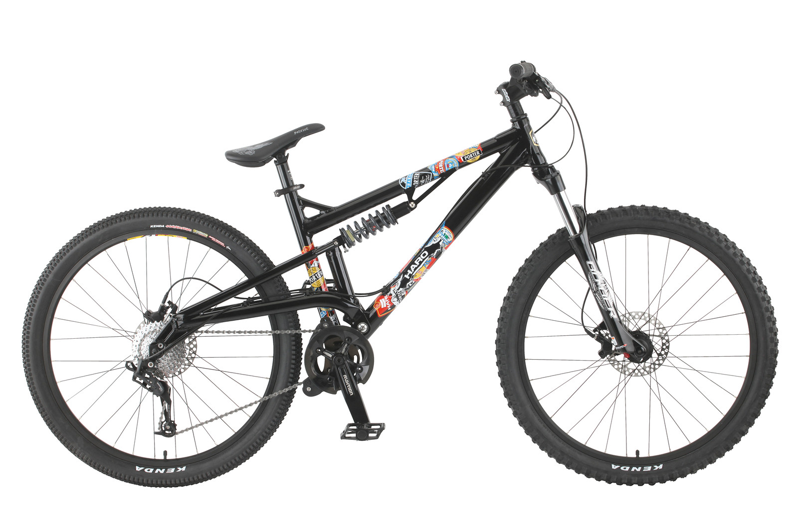 2011 Haro Porter Comp Bike 2011_portercomp_blk