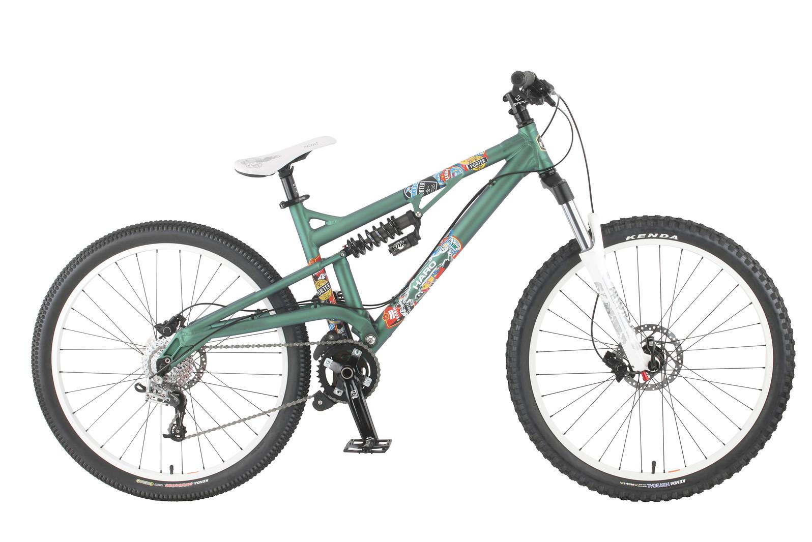 2011 Haro Porter Expert Bike 2011_porterexpert_green