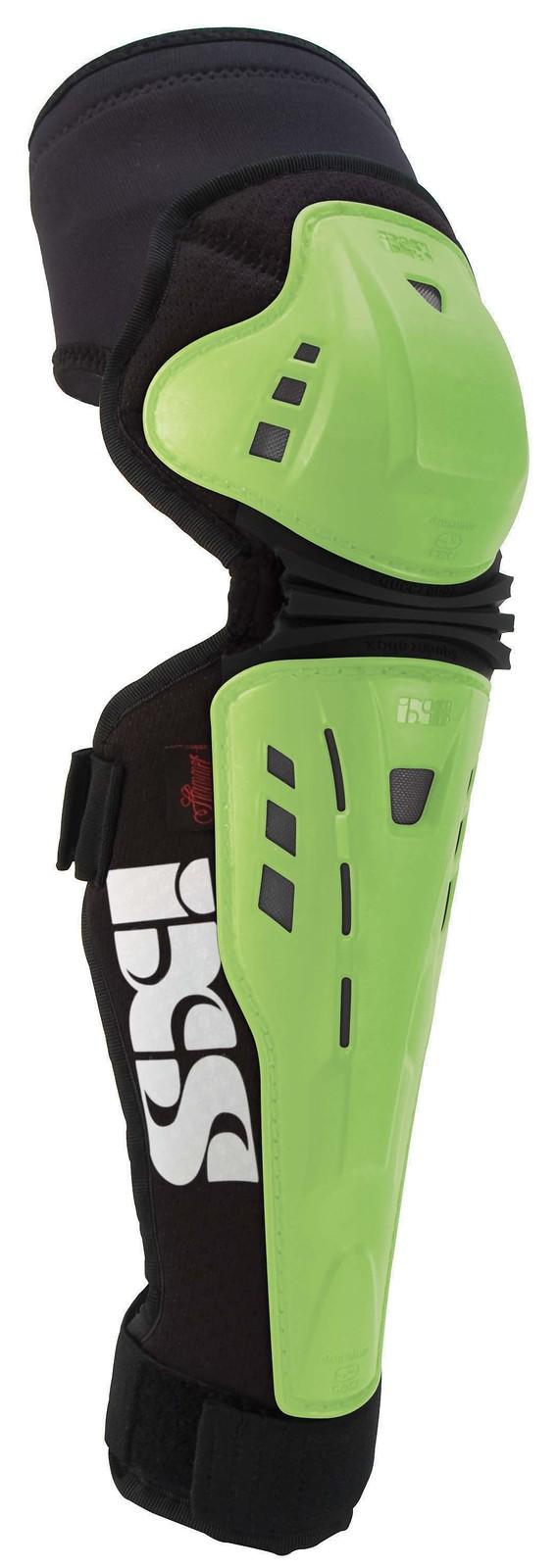 iXS Assault-Series Knee/Shin Pad ASSAULT-KNEE-GREEN