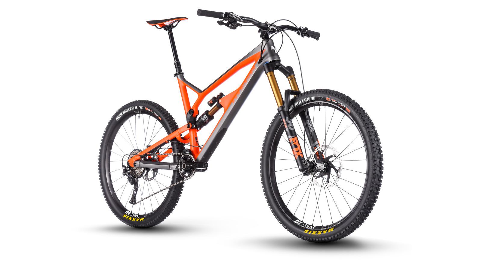 2018 Nukeproof Mega 275 Carbon Factory Bike Nukeproof Mega 275c Factory