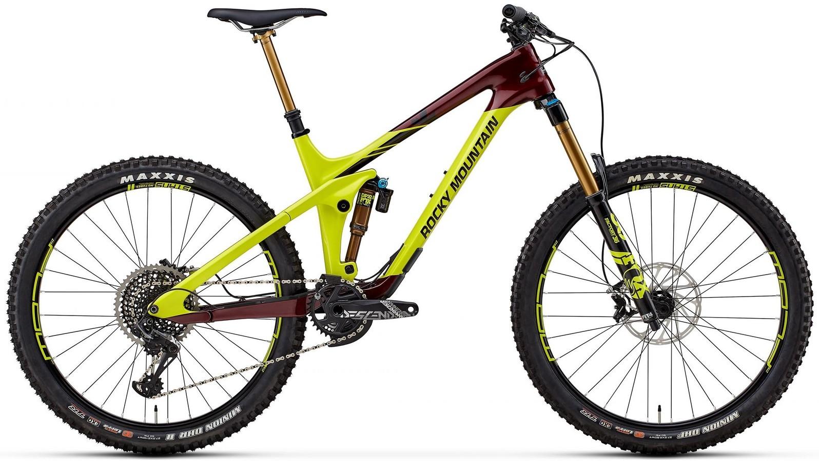 2018 Rocky Mountain Slayer Carbon 90 Bike Reviews Comparisons