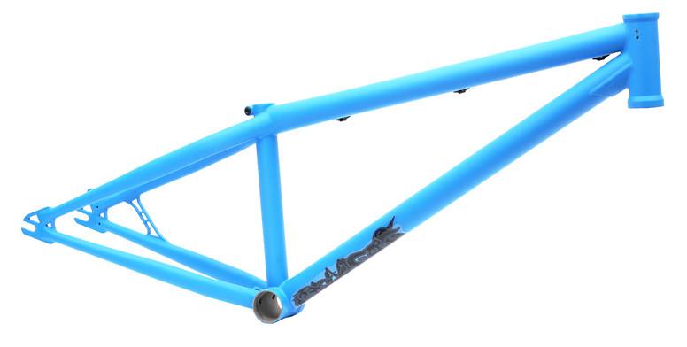 Black Market Bikes Contraband Frame Flat Aqua Contraband