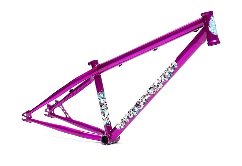 Black Market Bikes Malice Frame Malice-Purple