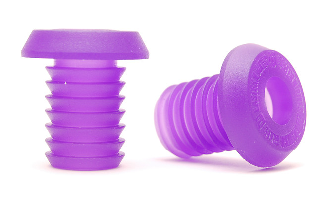 Eastern Nylon Bar End Bar End Nylon Purple LoRes
