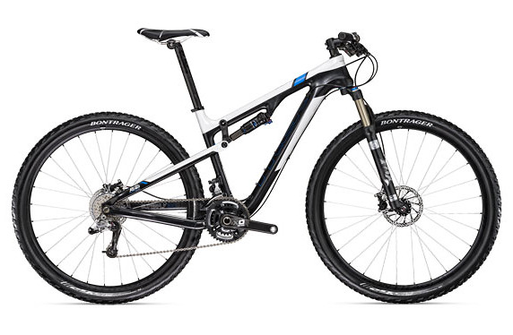 2011 Trek Superfly 100 Bike superfly100elite_whiteblack