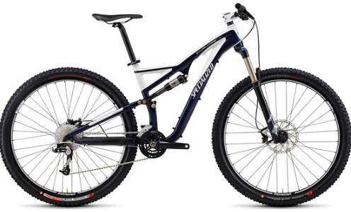 Specialized Stumpjumper FSR Comp 29er Bike Stumpjumper FSR Comp 29er navywhite
