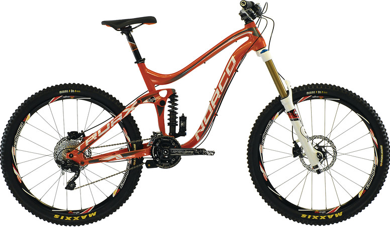 2013 Norco Truax 1 Bike 064267-13-01-truax1-orange