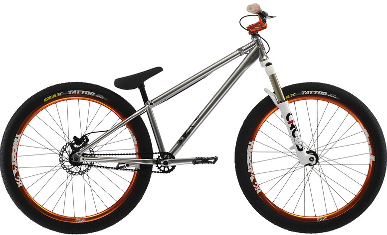2013 Norco Two50 Bike 064180-13-01-250-slvr
