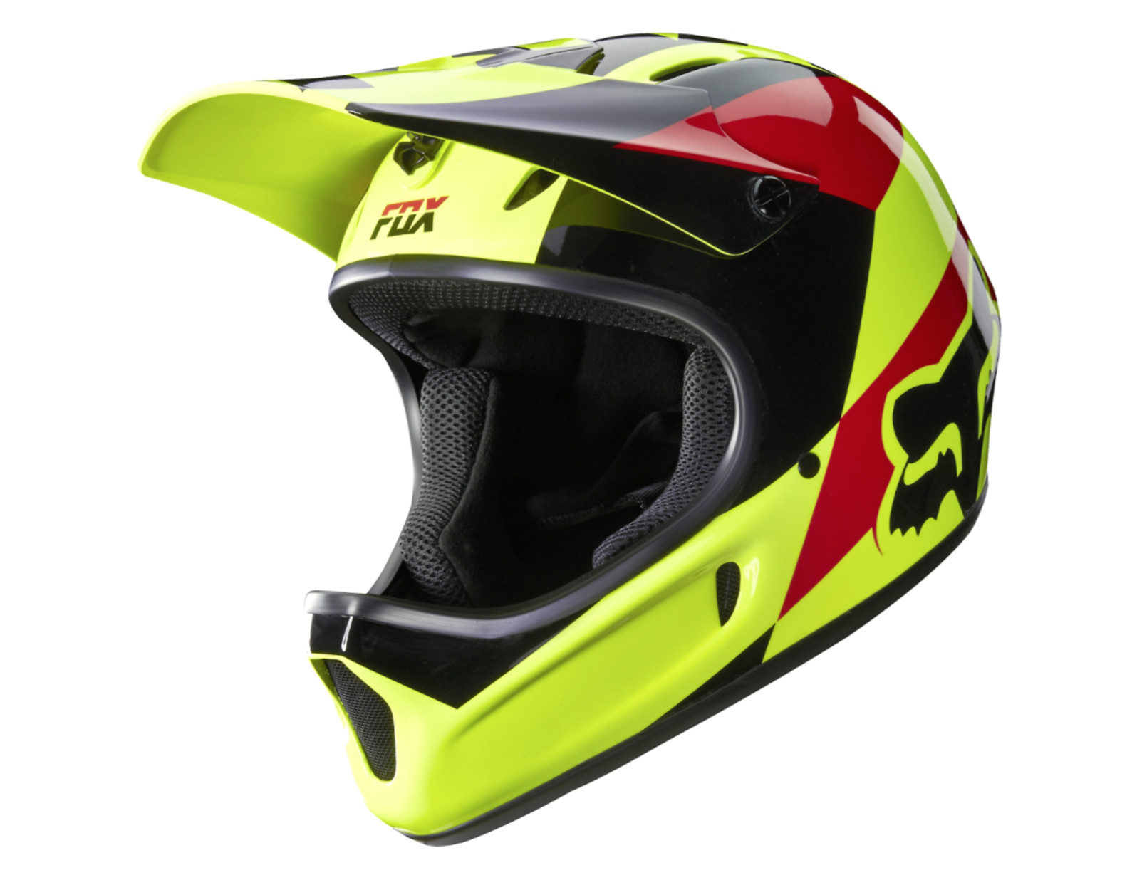 Fox Racing Rampage Full Face Helmet Fox Racing Rampage Helmet - Mako Yellow