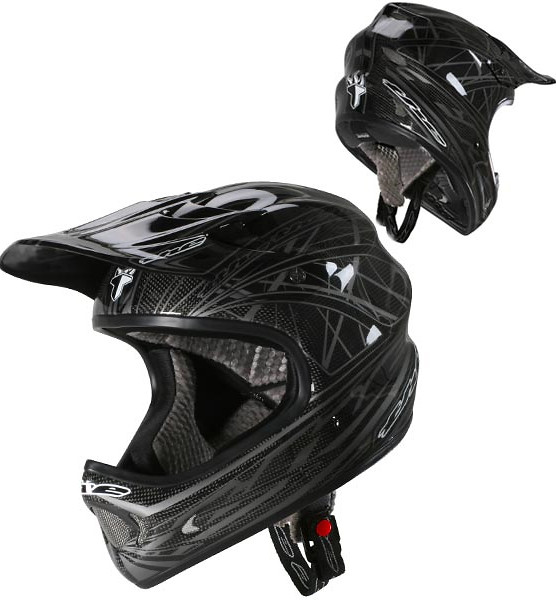 T.H.E. Carbon One Full Face Helmet  he275g03.jpg