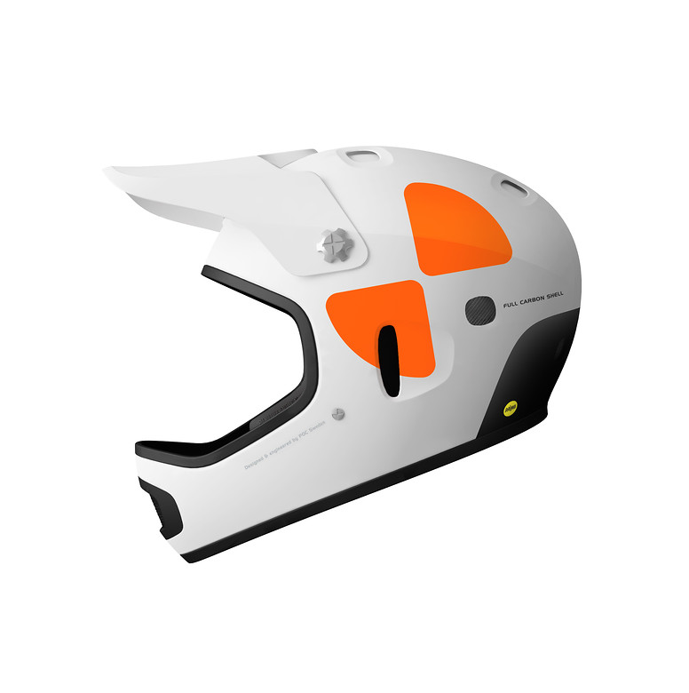 POC Cortex DH MIPS  Helmet Cortex_DH_White_01-left-side