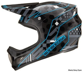 SixSixOne Evolution Carbon Full Face Helmet 48299.jpg