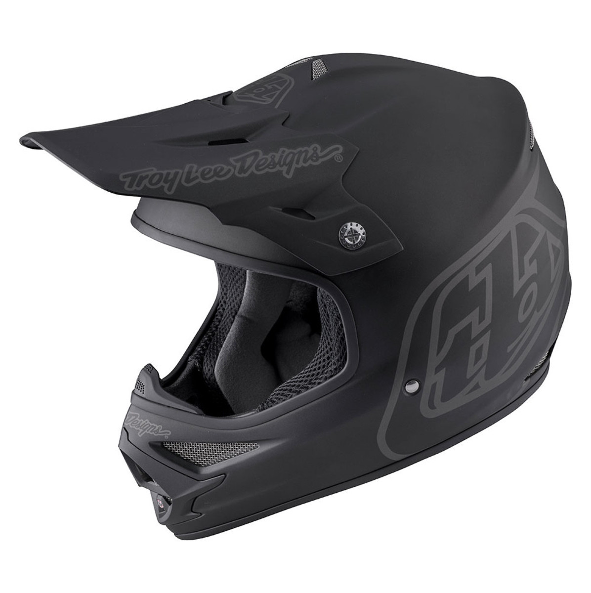 Troy Lee Designs Air Helmet  TLD Air Helmet - Midnight 2 Black