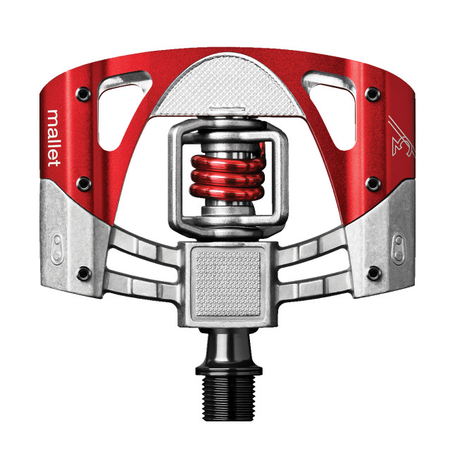 Crank Brothers Mallet 3 Clipless Pedals Crank Brothers Mallet 3 - red