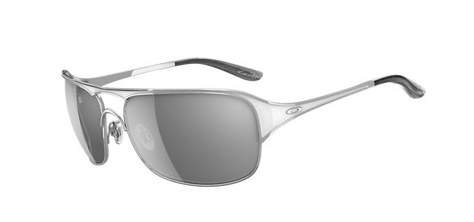 Oakley Cover Story Sunglasses Chrome/Grey Lens  oak-coverstory-sngls-chrmegry-wmns-11.jpg