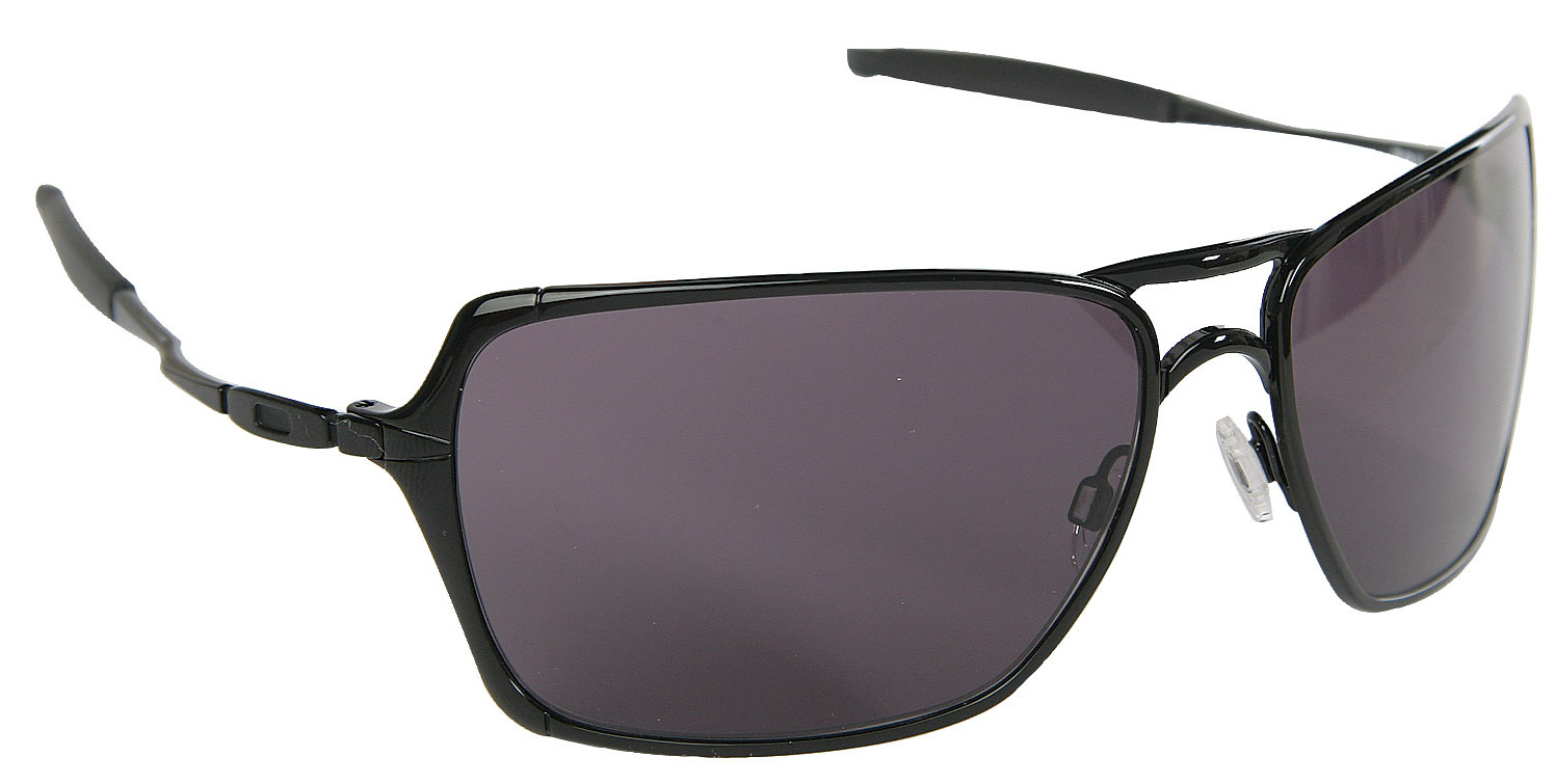 oakley inmate  Oakley Inmate Sunglasses Polished Black/Warm Grey Lens - Reviews ...