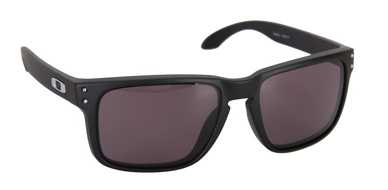 Oakley Holbrook Matte Black Grey Polarized