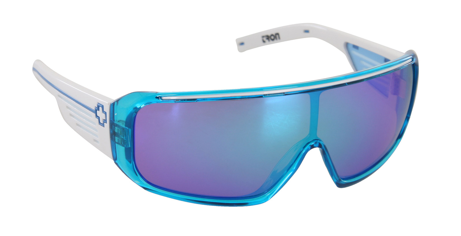 Spy Optic Spy Tron Sunglasses Translucent Cyan W/ Wht Gry W/ Mult Layer Grn Lens  spy-tron-sngls-cyanwhtgrygrn-10.jpg