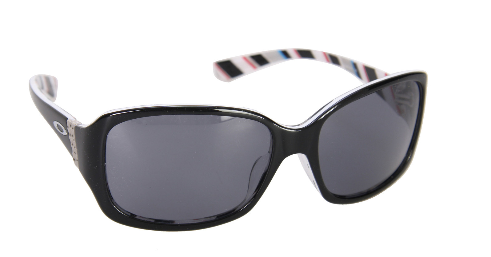 Oakley Discreet Sunglasses Black W/Stripes/Grey Lens  oakley-discreet-sngls-wmns-blkwstrpsgry-10.jpg