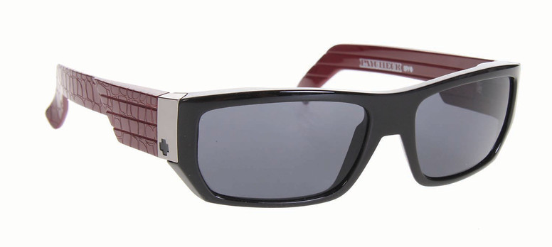 Spy Optic Spy Paycheck Sunglasses Black Print Burgundy/Grey Lens  spy-paychk-sngls-blkprntburggry-09.jpg