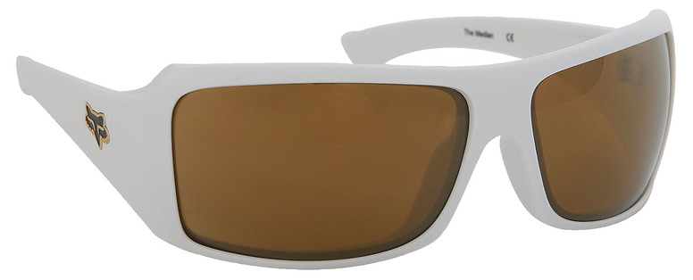 Fox Racing Fox The Median Sunglasses Polished White/Gold Lens  fox-median-polwtgld-08.jpg