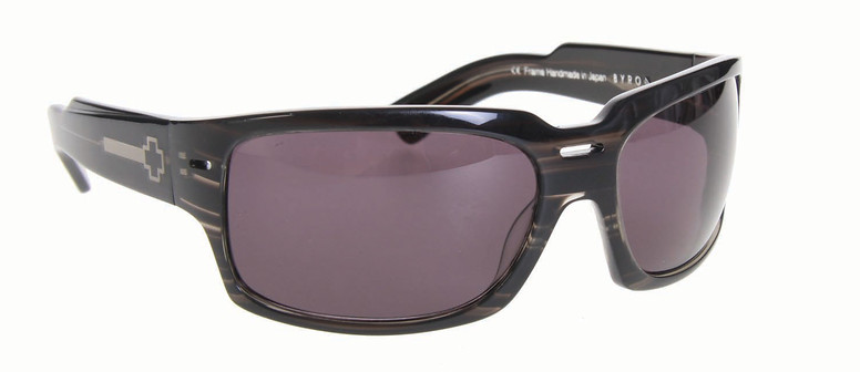 Spy Optic Spy Byron Sunglasses Black Linear Tort/Grey Lens  spy-byron-sngls-blklineartortgry-09.jpg