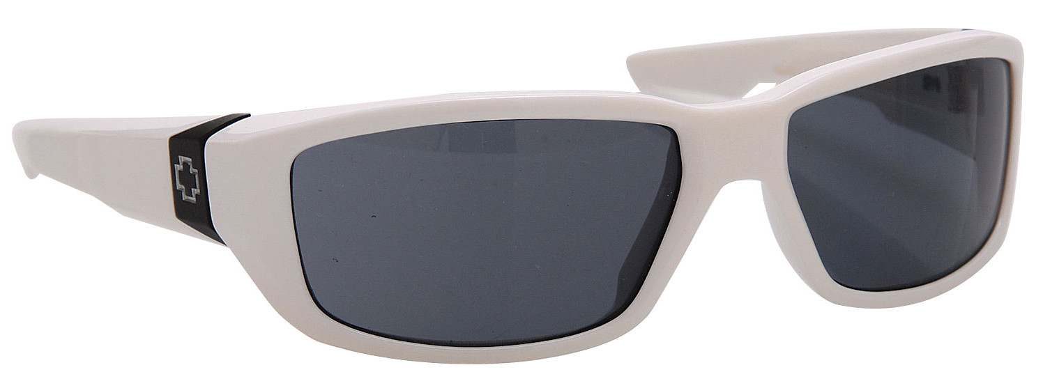 Spy Optic Spy Dirty Mo Sunglasses Shiny White/Grey Lens  spy-dirty-mo-wtgy-08.jpg