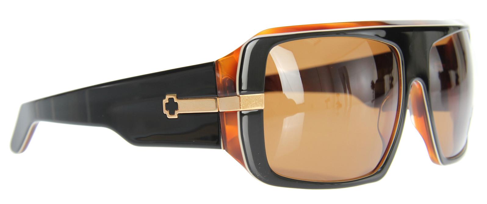Spy Optic Spy Double Decker Sunglasses Black/White/Tortoise Bronze Lens  spy-doubledecker-sun-black-wht-tort-09.jpg