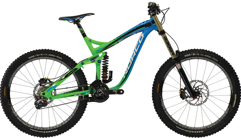 2013 Norco Aurum  LE Bike 064100-13-01-aurumLE-green-blue