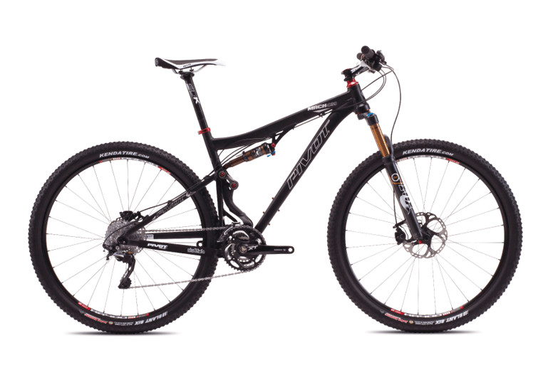 2013 Pivot Mach 429 with XT STD  Pivot Mach 429 with Shimano XT:XTR Pro (Anodized Jet Black)