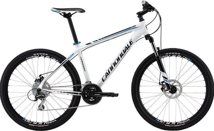 2013 Cannondale Trail 6 Bike 2013 Cannondale Traill SL 6 (white)