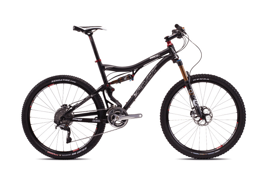 2013 Pivot Mach 4 with XX-1  bike - Pivot MACH 4 (black with Shimano XTR)