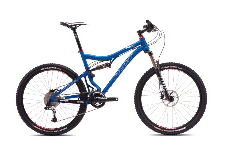 2013 Pivot Mach 4 with X0  bike - Pivot MACH 4 (Blue with Sram X9)