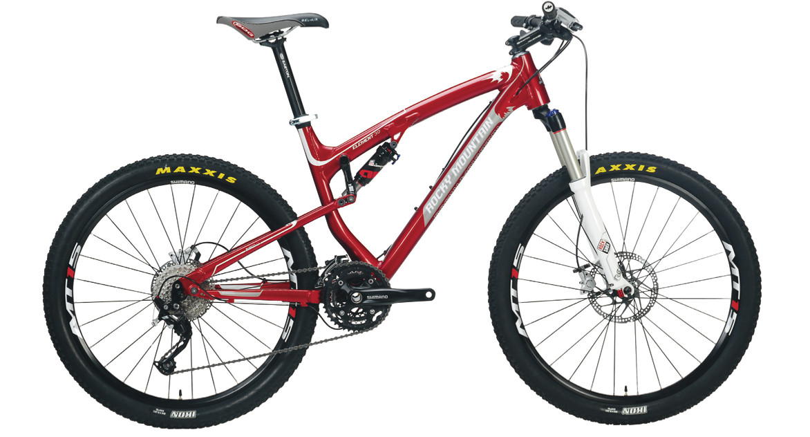 2012 Rocky Mountain Element 30 Bike Reviews Comparisons Specs